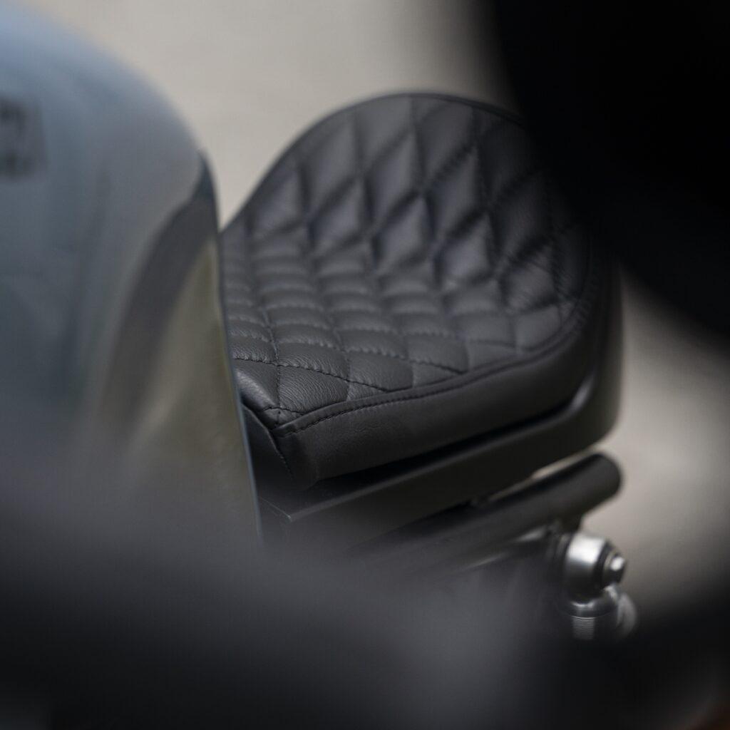 Leather Seat, Italian, Moto Guzzi, Le Mans, Motorcycle